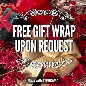 Other - FREE Gift Wrap Upon Request & Pay in Time w AFFIRM